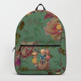 Hooping in The Rose Garden Backpack