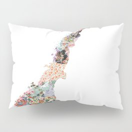 Norge map Pillow Sham