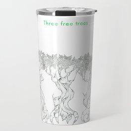 Three Free Trees Travel Mug