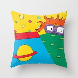 RUGRAT Throw Pillow