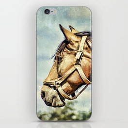 Horse Profile iPhone Skin