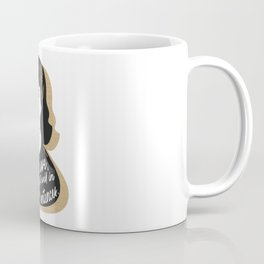 Let Me Live - Sylvia Plath - Black & Gold Coffee Mug