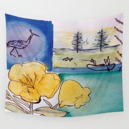 Mic Mac Legend, Nova Scotia, CANADA        by Kay Lipton Wall Tapestry