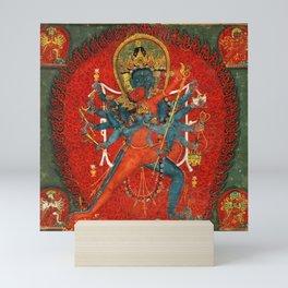 Cakrasaṃvara Tantra Saṃvara With Vajravārāh Mini Art Print