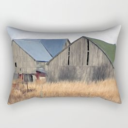 Old Barns Rectangular Pillow