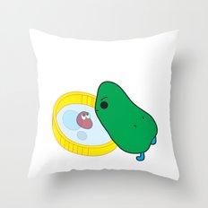 beans Throw Pillow