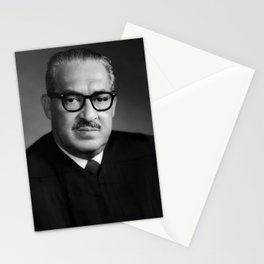 Thurgood Marshall Portrait - 1970 Stationery Cards