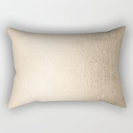 White Gold Sands Rectangular Pillow