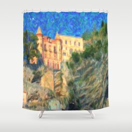 Summer Magician Shower Curtain