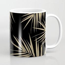 Palm Leaves Cali Finesse #1 #gold #tropical #decor #art #society6 Coffee Mug