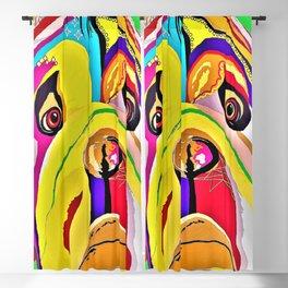 Bulldog Close-up Blackout Curtain
