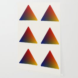 Lichtenberg-Mayer Colour Triangle variation, Remake using Mayers original idea of 12+1 chambers Wallpaper