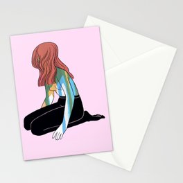 YOU MAY NOT BE EVERYBODY'S FAVOURITE COLOR Stationery Cards