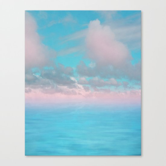 The Sea is Calm 03 Canvas Print
