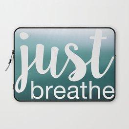 Just Breathe Laptop Sleeve