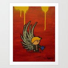 Wing Man Art Print