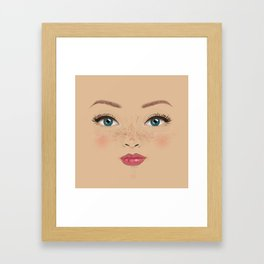 Esra'nin kadinlari 5 Framed Art Print