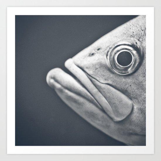 Eye There Art Print