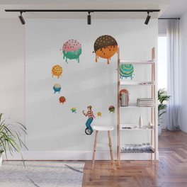 Ice Cream Solves Everything Wall Mural