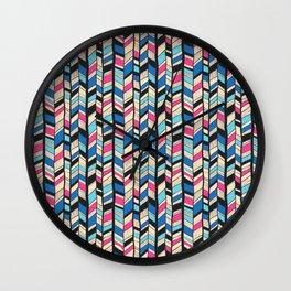 Chevrons Wall Clock