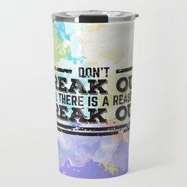 Don't Freak Out Travel Mug