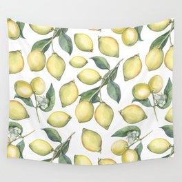 Lemon Fresh Wall Tapestry