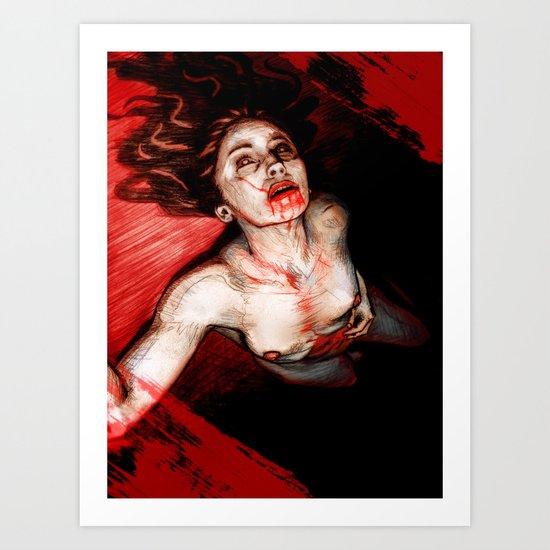 A Murder Ballad pt. 2 Art Print