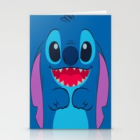 stitch Stationery Cards featuring stitch by customgift