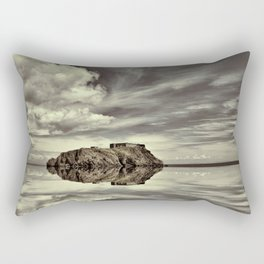Reflections of Tenby Rectangular Pillow