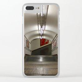 Subway Stories (Pt 15 - Paris, France.) Clear iPhone Case