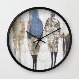 Uneven Ladies Wall Clock