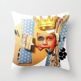 Skin Deep | Collage Throw Pillow