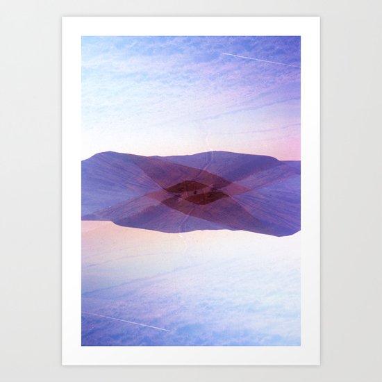 Peaked Art Print
