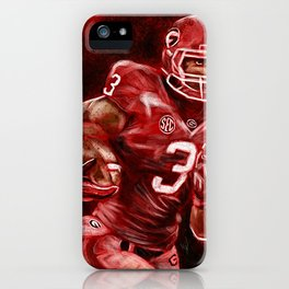 Todd Gurley of UGA Bulldog Football iPhone Case
