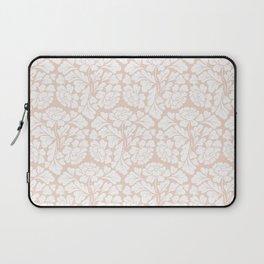 Baroque Pattern - Pink Pastel Laptop Sleeve