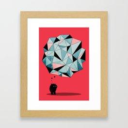 The Pondering Framed Art Print