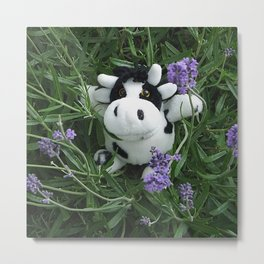 my little cow Metal Print