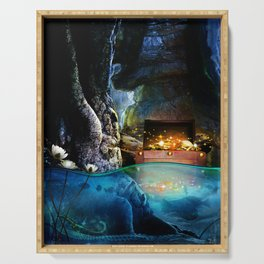 Treasure Cave Serving Tray