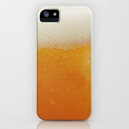 Beer Bubbles iPhone Case
