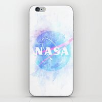 nasa iPhone & iPod Skins featuring NASA by avoid peril