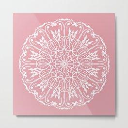 Mandala flower 13 Metal Print
