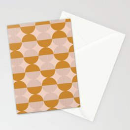 OP Circles - Mustard Stationery Cards