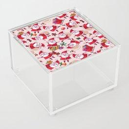 Santa Gift Pattern Acrylic Box