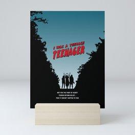 Teenage Terror Mini Art Print