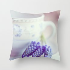 A taste of spring Throw Pillow