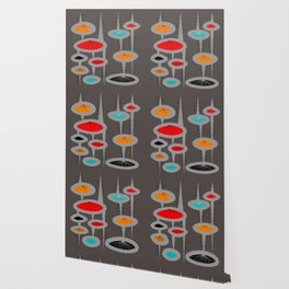 Atomic Space Age Wallpaper