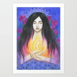 The Goddess Within Art Print