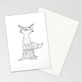 Carol the Fox Stationery Cards