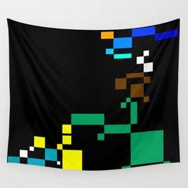 PixelLandScape Wall Tapestry