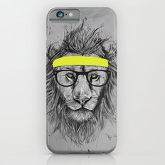 hipster lion iPhone 6s Slim Case